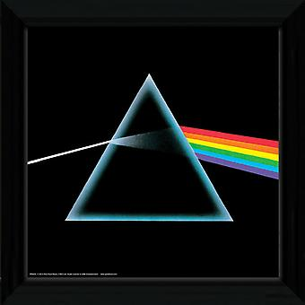 Pink Floyd Dark Side Of The Moon encadré Album couverture impression 12x12in