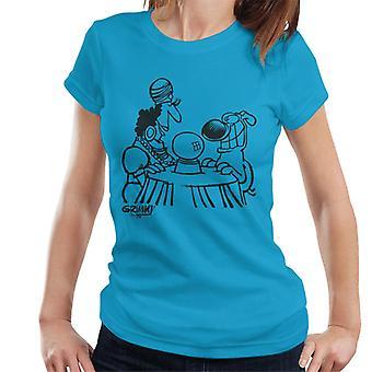 T-shirt damski z grimmy Fortune Teller