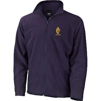 UDR Ulster Defense Regiment Veteran - lizenzierte britische Armee bestickt leichte Microfleece Jacke