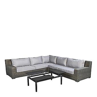 Beach7 | Isla Margarita lounge set |  Black Gold | loungesets