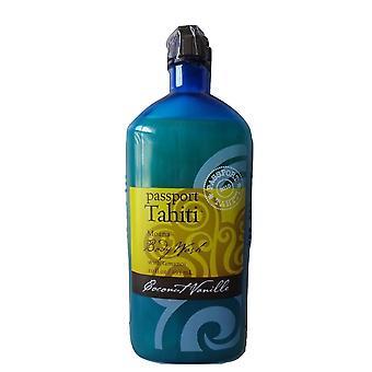 Bath & Body Works Passport Tahiti Coconut Vanilla Body Wash 10 fl oz / 295 ml
