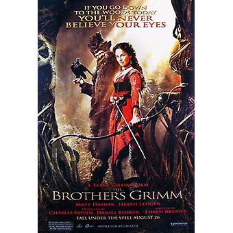 The Brothers Grimm (Double Sided Advance Style D) Original Cinema Poster