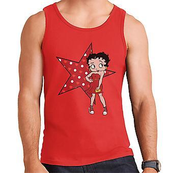 Betty Boop Star Pose Männer's Weste
