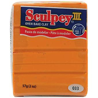 Sculpey Iii Polymer Clay 2 onces de patate douce S302 033