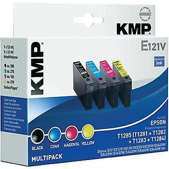 KMP Ink replaced Epson T1281, T1282, T1283, T1284 Compatible Set