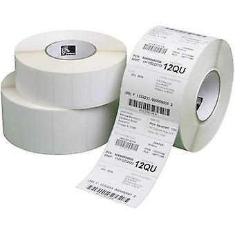 Zebra Labels (roll) 38 x 25 mm Direct thermal transfer paper White 30960 pc(s) Removable 800261-107 All-purpose labels