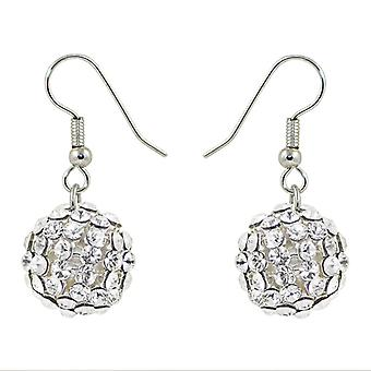 Crystal Mesh Ball Earrings EMB115.10