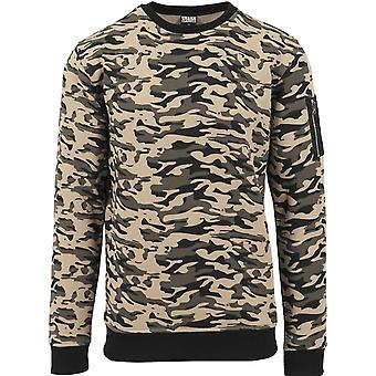 Urban klassikere - SVED BOMBEFLY sweater træ camo