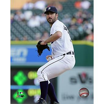 Justin Verlander 2016 Action Photo Print