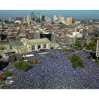 Kansas City Royals 2015 World Series Champions Parade Fotodruck