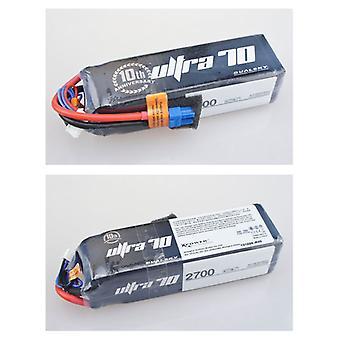 2700 mAh 70C 5s1p 18,5 v, 12 C charge