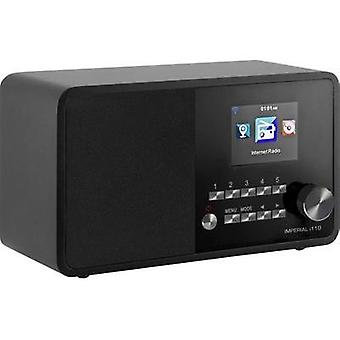 Internet Table top radio Imperial i110 Internet radio, USB Black