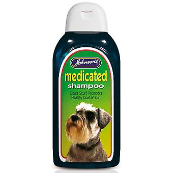Jvp Dog Medicated Shampoo 400ml (Pack of 3)