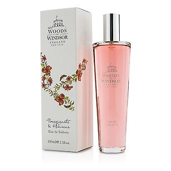 Woods Of Windsor Pomegranate & Hibiscus Eau De Toilette Spray 100ml/3.3oz