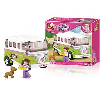 Sluban Building Blocks Girls Dream Series Camper Van
