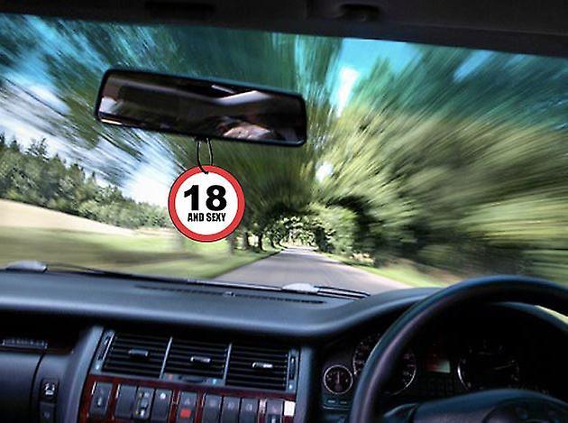 Personalised Speed Limit Car Air Freshener