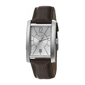 Pierre Cardin mens watch wristwatch GARE DE LYON leather PC106551F10