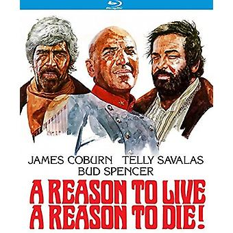 Reason to Live a Reason to Die [Blu-ray] USA import