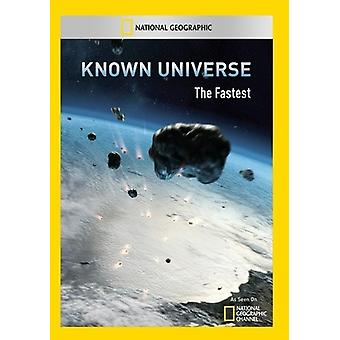 Known Universe: The Fastest [DVD] USA import