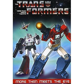 Transformers - mere end møder øjet [DVD] USA importerer