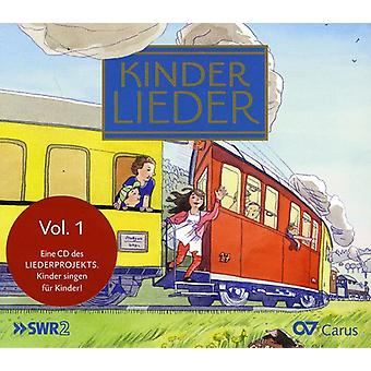 Kinderlieder (canciones infantiles) - Kinderlieder, importación USA Vol. 1 [CD]