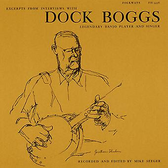 Dock Boggs - Excerpts From Interviews with Dock Boggs Legendary [CD] USA import