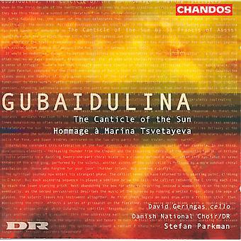 S. Gubaidulina - Gubaidulina: The Canticle of the Sun; Hommage   Marina Tsvetayeva [CD] USA import