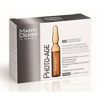 Martiderm Photo Age 10 Ampoules (Beauty , Facial , Anti-Ageing , Rejuvenating  , Toners)