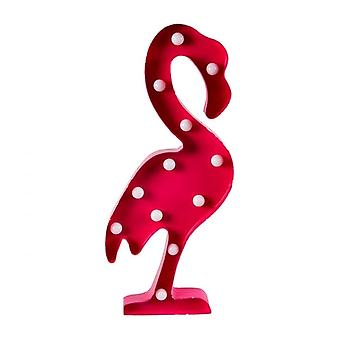Sass and Belle Tropical Flamingo Light Up LED Wall Decoration