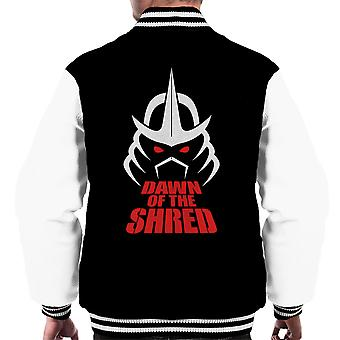 Dawn Of The Shred Shredder TMNT Men's Varsity Jacket
