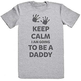 Spoilt Rotten Keep Calm I Am Going To Be A Daddy Men's Short Sleeve T-Shirt