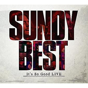 Sundy Best - It Is So Good Live [CD] USA import