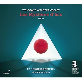 Mozart / flamenco Radio coro / concierto Spirituel - importación de Estados Unidos Les Mysteres D'Isis [CD]