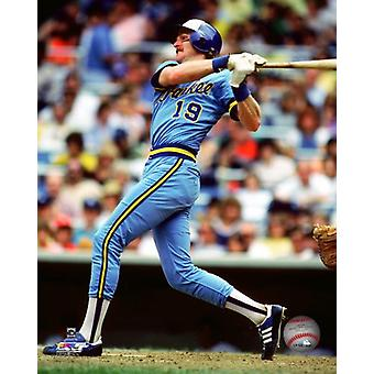 Robin Yount Action Photo Print
