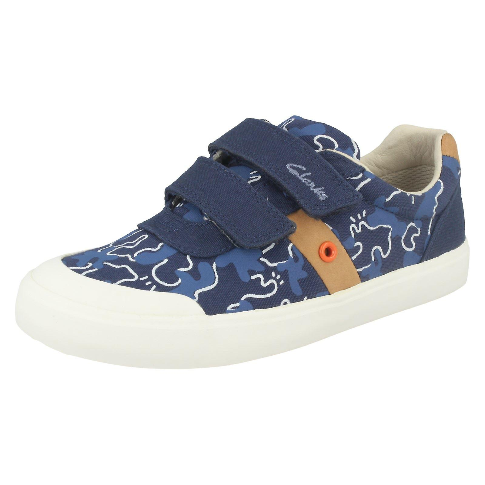 Boys Clarks Modern Canvas Shoes Comic Zone: Modern Clarks And Elegant In Fashion :Men's/Women's 9852d4