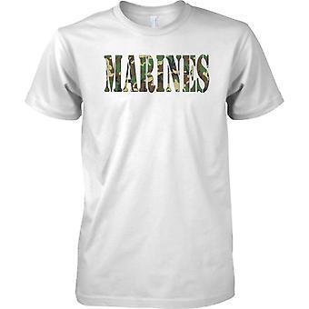 Marines - USMC - fuzileiros navais - holandês - Elite forças navais - Mens T-Shirt