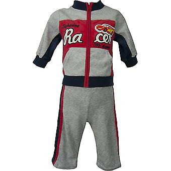 Baby Boys Disney Cars McQueen Velvet Knitted Jogging suit / tracksuit-2 piece set