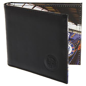 Chelsea FC Mens Official Football Stadium Leather Wallet
