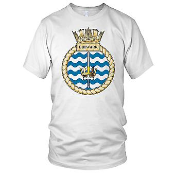 Royal Navy HMS Bulwark Mens T Shirt