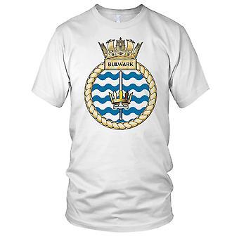 Royal Navy HMS bolwerk Kids T Shirt