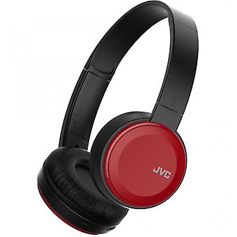JVC Earbud S30 On-Ear Wireless Mic Red