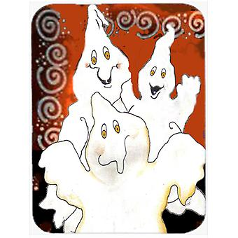 Carolines Treasures  PJC1005LCB Ghostly Crew Halloween Glass Cutting Board Large
