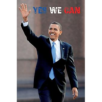 Barack Obama Yes We Can Poster Print (24 x 36)