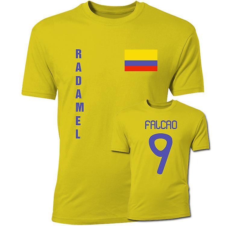 Radamel Falcao Vlag T-shirt (Geel) Colombia