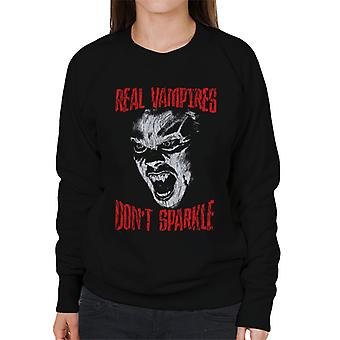 The Lost Boys Real Vampires Dont Sparkle Women's Sweatshirt