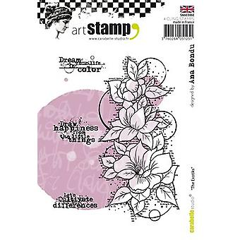 Carabelle Studio Cling Stamp A6 By Ana Bondu-The Exotiks SA60306E