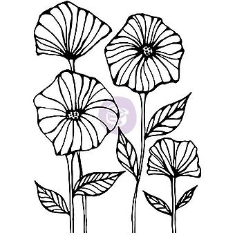 Christine Adolf Cling Rubber Stamps-Poppy Field CACS-71717