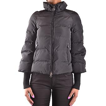 Invicta women's MCBI155050O black polyester Quilted Jacket