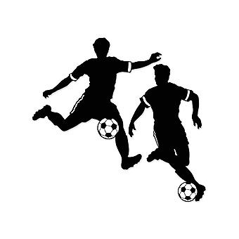 "Boy Football Silhouettes 27½"" & 28"""