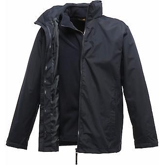 Regatta Mens Classic Polyester 3 i 1 vanntett vindtett jakke TRA150 marinen